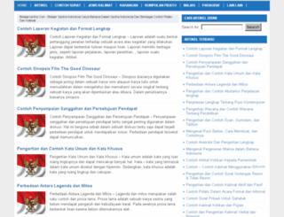 belajarsastra.com screenshot
