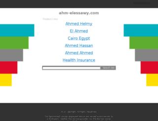 belal.ahm-elessawy.com screenshot
