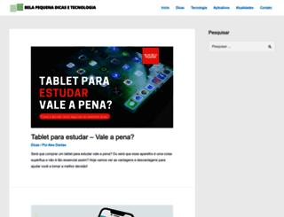 belapequena.com.br screenshot