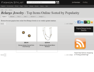 belargo-jewelry.fashionstylist.com screenshot