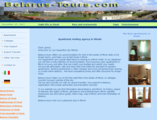 belarus-tours.com screenshot