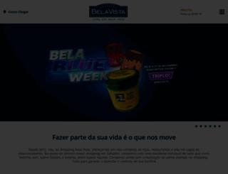 belavistashopping.com.br screenshot