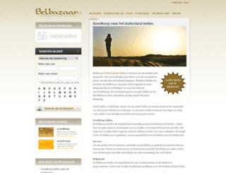 belbazaar.nl screenshot