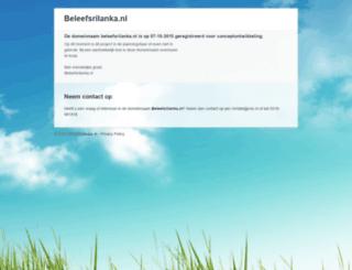 beleefsrilanka.nl screenshot