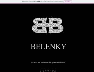 belenky.com screenshot