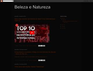 beleza-e-natureza.blogspot.com.br screenshot