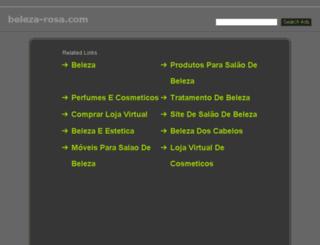 beleza-rosa.com screenshot