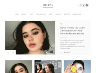beleza.co.in screenshot