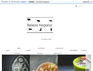 belezavegan.blogspot.com.br screenshot