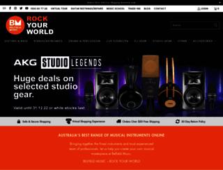 belfieldmusic.com.au screenshot
