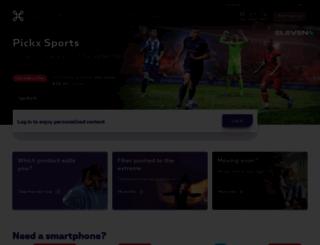belgacom.be screenshot