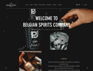 belgianspirits.com screenshot