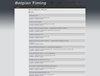 belgiantiming.be screenshot