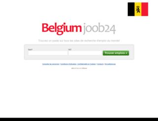 belgium.joob24.com screenshot