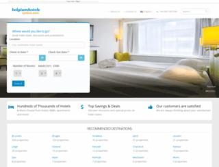belgiumhotelsoption.com screenshot
