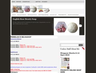 belinashop.blogspot.com screenshot