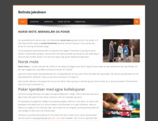 belindajakobsen.com screenshot