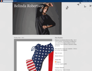 belindarobertsoncashmere.blogspot.com screenshot
