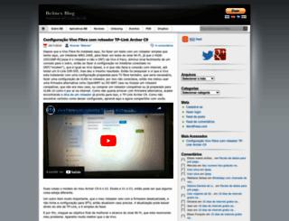 belinex.wordpress.com screenshot