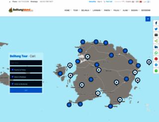 belitungisland.com screenshot