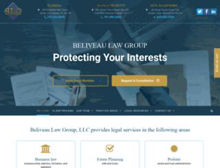 beliveaulaw.net screenshot