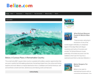 belize.com screenshot