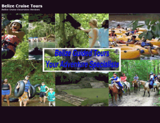 belizecruiseexcursions.actionboysbelize.com screenshot