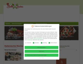 bella-cucina.de screenshot