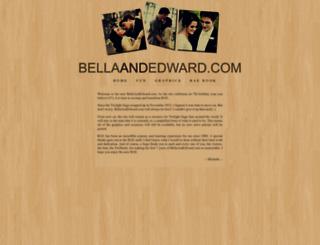 bellaandedward.com screenshot