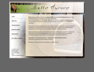 bellaaurora.fi screenshot