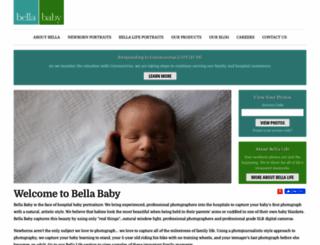 bellababyphotography.com screenshot