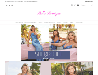 bellaboutique.com screenshot