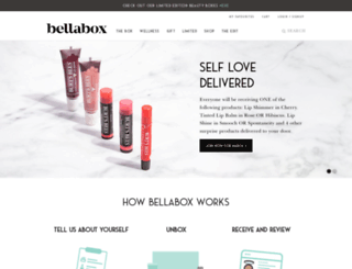 bellabox.com.au screenshot