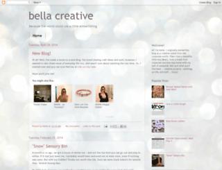 bellacreativekatie.blogspot.com screenshot