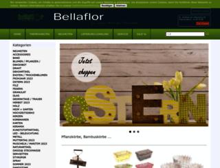 bellaflor.com screenshot