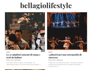 bellagiolifestyle.it screenshot