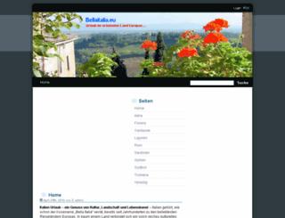 bellaitalia.eu screenshot