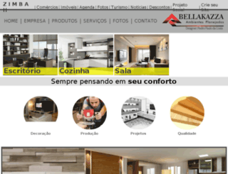 bellakazzamoveis.com.br screenshot