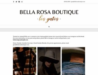 bellarosaboutique.com screenshot