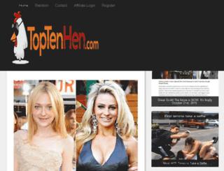 bellasblog.toptenhen.com screenshot