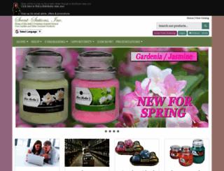 bellascandles.scent-team.com screenshot