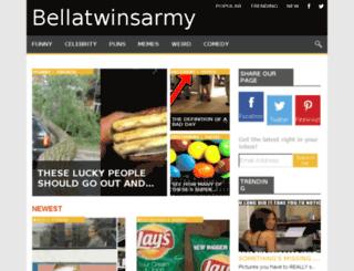 bellatwinsarmy.com screenshot