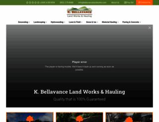 bellavancelandworks.com screenshot