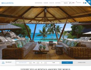bellavista-villas.com screenshot