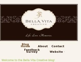 bellavitacreative.squarespace.com screenshot