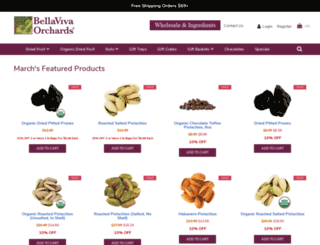 bellaviva.com screenshot