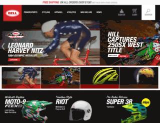 bellbikehelmets.com screenshot