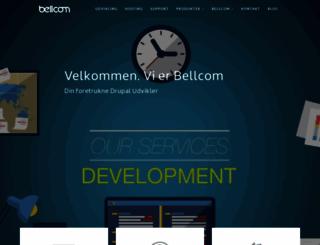 bellcom.dk screenshot