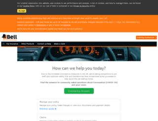 belldirect.co.uk screenshot