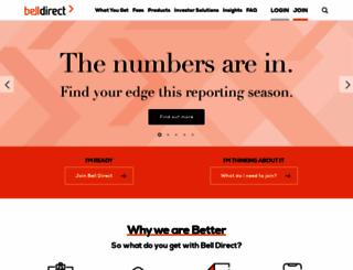 belldirect.com.au screenshot